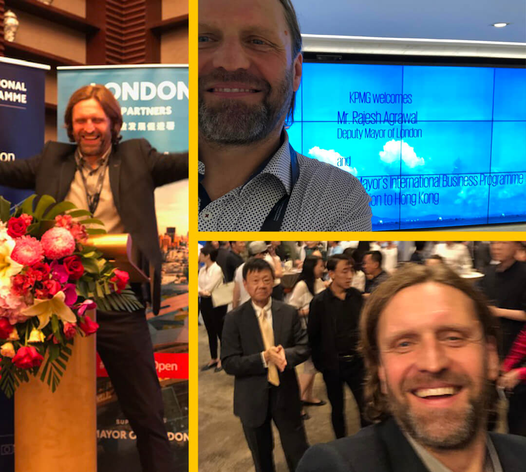 Managing Director Xaver, at the Mayor's International Business Programme in China