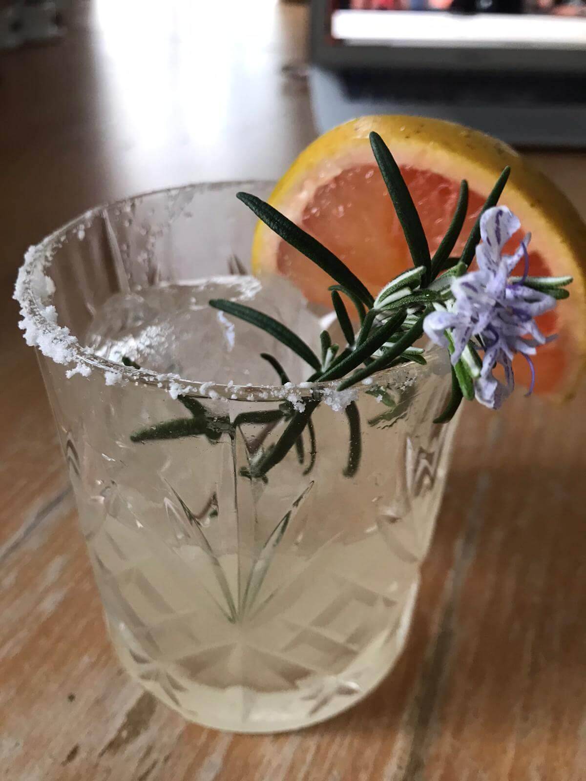 Smokey Arroyo cocktail